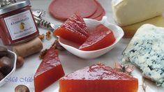 quince paste meli milo Quince Jelly, Cheese, Food, Essen, Yemek, Meals