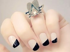 Retrospective 2016 - The 5 Most Used Decorated Nails of the Year! - Nail Colors & Nail Tips Nail Art Designs, Nail Designs 2017, Popular Nail Designs, Holiday Nail Designs, French Nail Designs, Simple Nail Designs, French Nails, Fun Nails, Pretty Nails