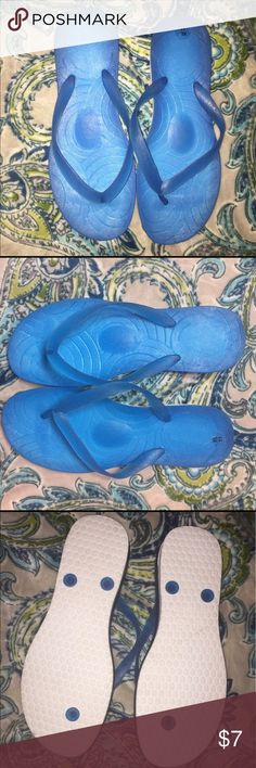 Jelly flip flop Blue jelly flip flop NWOT (no box) Shoes Sandals
