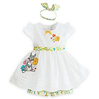 Disney Thumper Layette Baby Dress and Bloomers Set Outfits Niños, Cute Girl Outfits, Kids Outfits, Baby Outfits, Disney Baby Clothes, Baby Kids Clothes, Baby Girl Fashion, Baby Love, Baby Baby
