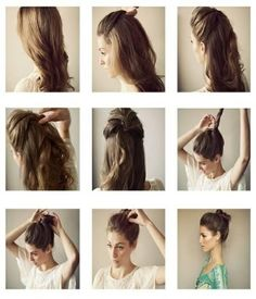 i like hair up like ballerina, but need to make the top part more UP.  http://alovelystyle.blogspot.com.es