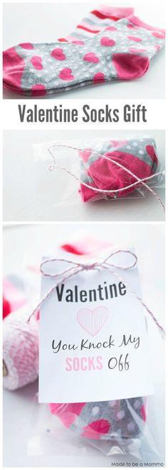 Valentine Socks Gift