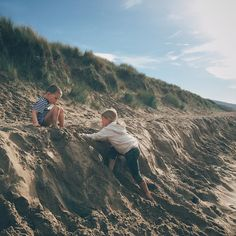 It's been like summer in October today. The kids played in the sea and then spent ages rolling down the dunes. It has been one of those days you want to remember forever.