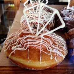 Eat doughnuts.  #greatoceanroad #warrnambool #warrnamboolcafe #warrnamboollunch #warrnamboolcoffee #Warrnamboolbreakfast #roughdiamond #doughnut by rough_diamond_coffee