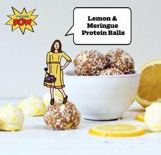 Lemon & Meringue Protein Balls - Protein Pow