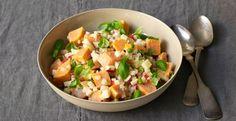 Healthy-Sweet Potato Salad with greek yoghurt