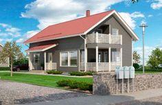 Katso Kastelli Moderni 146/169 ja yli tuhat muuta talomallia Meillä kotonan Talohausta.