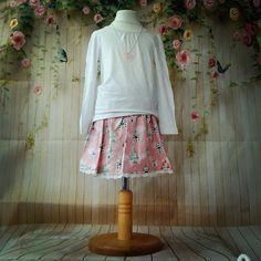Pink castle skirt