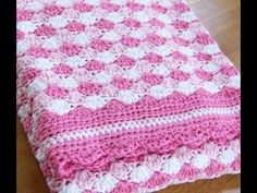 Beginner play list: ... my faceook page: ... My etsy shop: ... ~~~~~~~~~~~this video teaches how to crochet shell stitch. Crochet, Stitch, Crochê, Blanket,