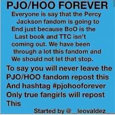 And fanboys. Not just fangirls. There are also guys in this fandom. #pjoandhooforever