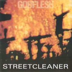 Streetcleaner, an Album by Godflesh. Released in November 1989 on  (catalog no. MOSH 15; Vinyl LP). Genres: Industrial Metal, Sludge Metal.  Rated #11 in the best albums of 1989, and #1022 in the greatest all-time album chart (according to RYM users).  Featured peformers: Justin Broadrick (vocals, guitar), Vitriol (bass), Godflesh (producer), Noel Summerville (mastering).