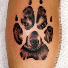 puppy prints infinity tattoo - Google Search