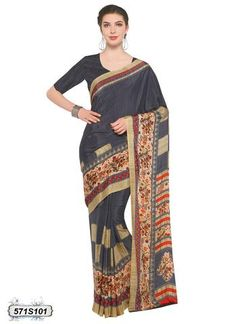 Having fabric crepe. Beautified with print which synchronized effectively with all the pattern and design of the attire. Comes with matching blouse Crepe Saree, Romantic Gifts For Her, Indian Designer Sarees, Casual Saree, Printed Sarees, Saree Wedding, Sarees Online, Indian Wear, Color Combinations