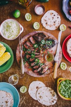 """Home Cookin' !! (Great Homes, Great Food!!!)... Tequila Lime Marinated [Grass Fed] Steak ....at a Hacienda Heaven!! down in Mexico (""""It sounds so sweet, with the sun sinking low"""" —James Taylor)"""