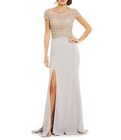 a1465a90ac451 Shop for Terani Couture Beaded Bodice Gown at Dillards.com. Visit Dillards. com