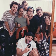 David Dobrik, Liza Koshy, Corinna Kopf, Toddy Smith, Alex Ernst, Gabbie Hanna, Zane Hijazi, Carly Incontro