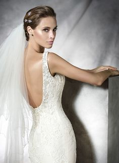 pronovias 2016 backless wedding dresses PROSA_D