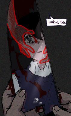 Dark Art Illustrations, Illustration Art, Cool Stuff, Vent Art, Arte Obscura, Anime Kawaii, Dark Anime, Angst, Drawing Poses