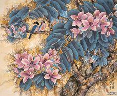 Мир искусства в живописи: Jin Hongjun (1937-)