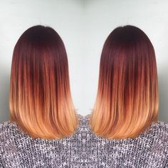 Ombre? A definite hot hairstyle trend right now. What's even hotter? Striking red hair! Combine the two and you've got a stunning hair color that turns heads everywhere. These red ombre hair ideas are sure to catch your attention! Burnt Red to Golden Blonde A deep shade of red is left on the upper half …