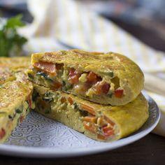 Cómo preparar tortilla de hortalizas con Thermomix « Trucos de cocina Thermomix