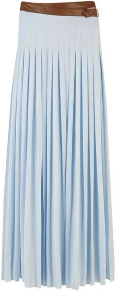 7af38a5d7a85e2 TED BAKER LONDON Galva Pleated Maxi Skirt - Lyst Maxi Styles