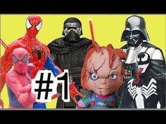 #1 Kylo Ren Ben Solo Homem Aranha Guerra nas Estrelas  Disney  Despertar...