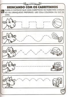 Educação infantil: atividades para pré-escola para imprimirRota 83