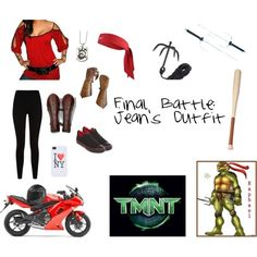 """TMNT: Final Battle"" by thenat1 on Polyvore"