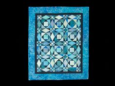 Storm at Sea Quilt -- marvelous skillfully made Amish Quilts from Lancaster (wh6592)