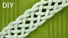 How to Braid with SIX strands - simple Friendship bracelet