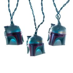 10/Lights Star Wars Boba Fett Helmet Light Set
