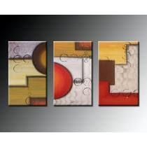 Cuadros Abstractos Originales - Tripticos - Dipticos !!! #buyart #cuadrosmodernos #art