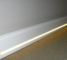 Hospitality LED lighting fixtures, such as LED lighted closet rods and vanity lighting