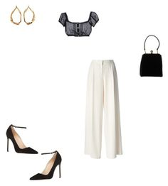 """""""Sin título #7215"""" by paolabw ❤ liked on Polyvore featuring DKNY, Hoff By Hoff, Manolo Blahnik, Dolce&Gabbana and Tom Ford"""