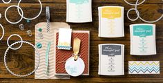 Angie's (one of Stampin' Up!'s fabulous concept artists) favorite new products out of Stampin' Up!'s new annual catalog.
