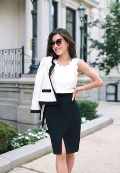 what to wear to an interview_professional office outfit by extra petite blog