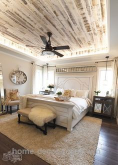 Home Decor Bedroom Modern French Country Farmhouse Master Bedroom Design.Home Decor Bedroom Modern French Country Farmhouse Master Bedroom Design Country Master Bedroom, French Country Bedrooms, Farmhouse Bedroom Decor, Master Bedroom Design, Dream Bedroom, Home Decor Bedroom, Bedroom Designs, Girls Bedroom, Master Bedrooms