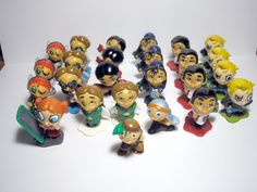 MPG lot of 25 small Boy's mini kinder surprise egg toy figures cake decor #MPG