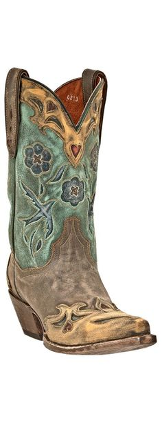 Dan Post Blue Bird Wingtip Cowgirl Boots - Snip Toe - like I need another pair of western boots! Cowgirl Style, Cowgirl Boots, Western Boots, Western Cowboy, Western Wear, Vintage Boots, Vintage Leather, Vintage Style, Boot Scootin Boogie