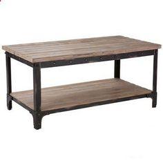 cute, rustic coffee table