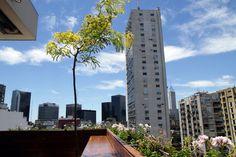 vista desde el VISIT Sky Bar del Hotel Pulitzer Buenos Aires