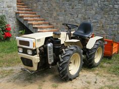 Pasquali tractor.