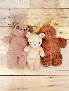 1950's Teddy Bears are showing up under the Vintage category - Yikes, that means I am vintage too! Bears like when I was a kid :)