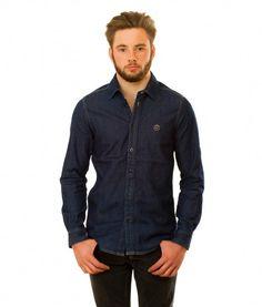Urban Thane's Denim Shirt Denim Button Up, Button Up Shirts, Denim Shirt, Urban, Collection, Tops, Fashion, Moda, Chemises