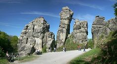 Externsteine – Wikipedia teutoburger wald