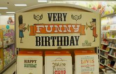 Display Design - Carlton Cards - Very Funny Birthday - Instore Display Visual Display, Display Design, Carlton Cards, Very Funny, Happy Love, Core Values, Funny Birthday, Group, So Funny