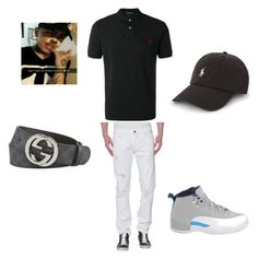 """""""Frimzy Boy"""" by shantell039 ❤ liked on Polyvore featuring True Religion, Polo Ralph Lauren, Jordan Brand, Gucci, men's fashion and menswear"""