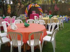 1000 images about manteles de cumplea os entretenidos on for Decoracion de sillas para 15