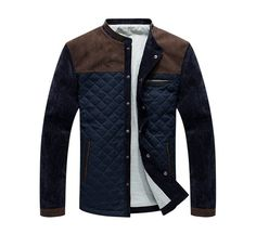 Item Type: JacketGender: MenClothing Length: Regular Material: Cotton,PolyesterType: Fitted Sizechart: US\EU